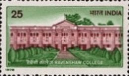 USED STAMPS India - The 100th Anniversary Of The Ravenshaw C -  1978 - India