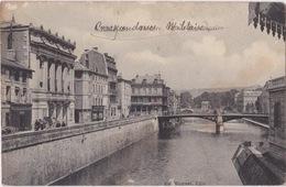 VERDUN (55) - Théâtre Et Pont Beaurepaire Effacement Lieu Pour Correspondance Militaire - Huguet - Verdun