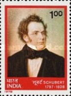 USED STAMPS - India - The 150th Anniversary Of The Death Of Franz -  1978 - India