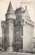 BRUXELLES - Porte De Hal - Oblitération De 1910 - Musea