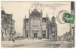 44 - SAINT-JULIEN-DE-VOUVANTES - L'Eglise (Façade Principale) - Lacroix 176 - 1908 - Saint Julien De Vouvantes
