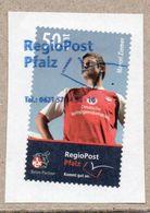 Privatpost - RegioPost Pfalz - Gest. - Fußball / 1. FCK / Marcel Ziemer - Fussball