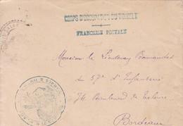 CORPS D' OCCUPATION DU TIDIKELT Franchise Postale Cachet PLACE D'IN SALAH 1904 , ALGERIE - Marcophilie (Lettres)