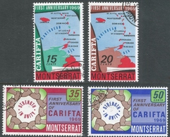 Montserrat. 1969 First Anniv Of CARIFTA. Used Complete Set. SG 223-226 - Montserrat