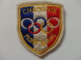 Ecusson De Chamonix Mont-Blanc (74). - Patches