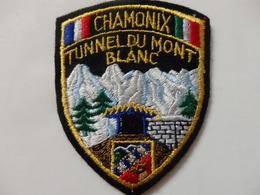 Ecusson De Chamonix Tunnel Du Mont-Blanc (74). - Patches