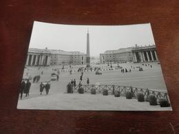FOTO PIAZZA SAN PIETRO -ROMA 1962 - PICCOLA FOTO - Luoghi