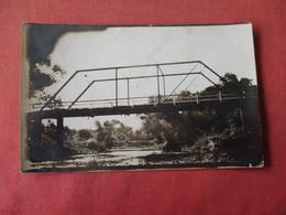 Bridge Unknown Location      RPPC     Ref 3162 - Postcards