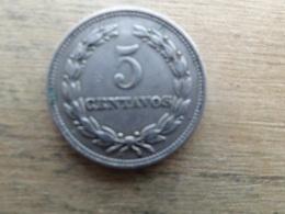 El Salvador  5  Centavos  1956  Km 134 - Salvador