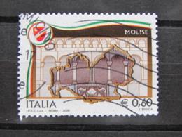 *ITALIA* USATI 2008 - REGIONI MOLISE - SASSONE 3036 - LUSSO/FIOR DI STAMPA - 6. 1946-.. Repubblica