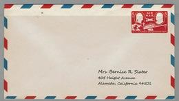 USA LETTRE E.P. - U.S. POSTAGE STAMP CENTENARY AVION BATEAU TRAIN CHEVAL - Correo Postal