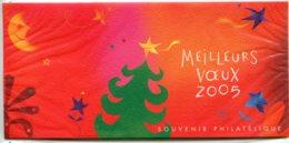 """11265 FRANCE  Blocs Souvenirs N° 3 ** """"Meilleurs Voeux"""" (étoile Personnage Avec Fleur)   2004  TTB - Foglietti Commemorativi"""