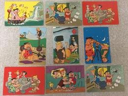 8 Oude Postkaarten  Flinstone Serie  1963/64 - Bandes Dessinées