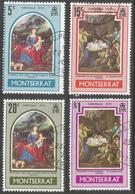 Montserrat. 1970 Christmas. Used Complete Set. SG 255-258 - Montserrat