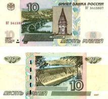 Russia, USSR. Banknote. 10 Rubles. Krasnoyarsk. UNC. 1997 - Russie
