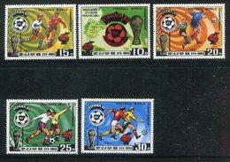 Korea-Nord / 1981 / Mi. 2099-2103 **, Fussball (7301) - Corée Du Nord