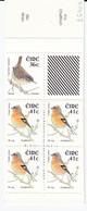 BIRDS Ireland 2002 Wren And Chaffinch Booklet MNH(**) #B75 - Oiseaux