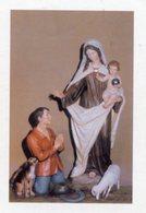 Racconigi (Cuneo) - Santino MADONNA DEL MONTE CARMELO Santuario Reale Madonna Delle Grazie - OTTIMO P90 - Religione & Esoterismo