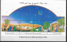 1996 Palästina Mi. Bl 7 **MNH Weihnachten. - Palestine