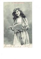 Cpa - EDITION BERGERET - Femme élégante Robe Bijoux- Cochon Porc Porte-veine - Fêtes Porte Bonheur - Bergeret