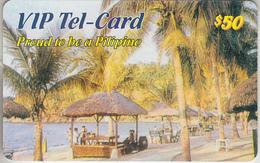 TÉLÉCARTE - PRÉPAYÉE ***  VIP - TEL-CARD - 50$  *** - Filipinas