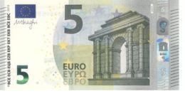 Banknote. 5 Euro. Romance Style. Spain VA. V005 Cliche Code. UNC. 2013 - EURO