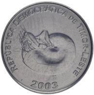 Timor. Coin. 1 Centavos. Shell. UNC. 2003 - Timor