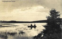 Crépuscule Sur COLRIN (St-Hubert) - Oblitération De 1913 - Edition J. Hemmer à Saint-Hubert - Saint-Hubert