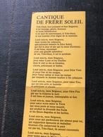 Cantique De Frère Soleil - Religion & Esotérisme