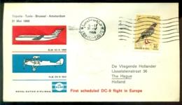 Libie 1966 Eerste Vlucht Met DC-9 TRipoli - Amsterdam VH A 707a - Libya