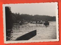 Lavarone Lago Trento 1925 Gita In Barca Di Giovani Italiane - Luoghi