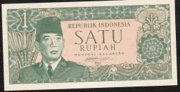 INDONESIA  P79A  1 RUPIAH  1961  RARE  ! !    UNC. - Indonesia