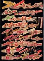 Bagues De Cigare  Lot 2  Plus De 100 Bagues Toutes Différentes - Bagues De Cigares
