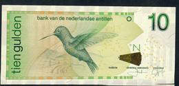 Netherlands Antilles P28e 10 Gulden 2011. UNC. - Billets