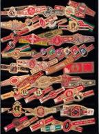 Bagues De Cigare  Lot 3  Plus De 100 Bagues Toutes Différentes - Cigar Bands