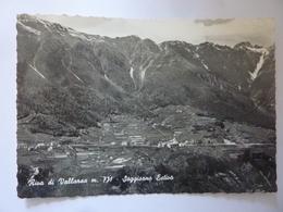 """Cartolina Viaggiata """"RIVA DI VALLARSA Soggiorno Estivo"""" 1954 - Italia"""