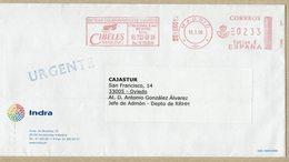 ESPAGNE  LETTRE AVEC METER EMA CIBELES MAILING - Correo Postal