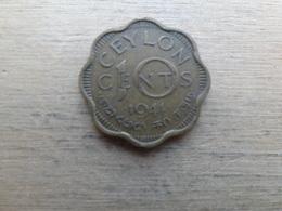 Sri Lanka  (ceylon)  10  Cents  1944  Km 118 - Sri Lanka