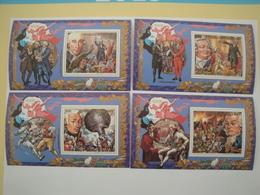 1989  Guinée BF84 à 88 ** MNH  French Revolution Française Cote 30.50 €  Michel 1263/6 + B340 Scott 1116/20  SG 1522/6 - Guinée (1958-...)
