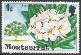 Montserrat. 1976 Flowering Trees. 1c MH. SG 371 - Montserrat