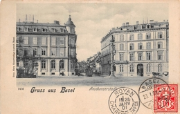 ¤¤  -   SUISSE  -   Gruss Aus BASEL   -  Aeschenvorstadt   -  ¤¤ - BS Bâle-Ville