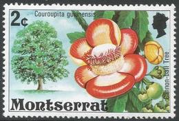 Montserrat. 1976 Flowering Trees. 2c MH. SG 372 - Montserrat