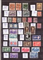 Gute Alte Sammlung Italien, Auch Kolonien, Fiume, Etc., - Sammlungen