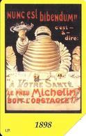 2-CARTES-1999-ITALIE-MAGNETIQUE-MICHELIN-BIBENDUM 1898-et 1961-Centenaire Michelin-TBE - Voitures