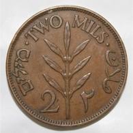 PALESTINE - KM 2 - 2 MILS 1927 - TTB+ - 1861-1946 : Kingdom