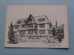Residence COSY CORNER Avenue Elisabeth Le Zoute ( Impr. VEKA ) Anno 19?? ( Zie Foto Voor Details ) ! - Knokke
