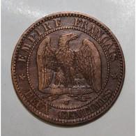 GADOURY 103 - 2 CENTIMES 1857 W Lille TYPE NAPOLEON III - KM 776 - TB - France