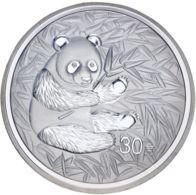 China. 30 Yuan. 2000. UNC. Panda - China