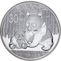 China. 30 Yuan. 2012. UNC. Panda - Chine