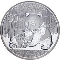 China. 30 Yuan. 2012. UNC. Panda - China
